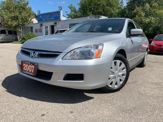 Used 2007 Honda Accord 4dr I4 AT DXG **ONLY ONE OWNER* LOW KMS* for sale in Brampton, ON