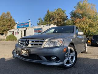 Used 2010 Mercedes-Benz C-Class 4dr Sdn 3.0L 4MATIC|ACCIDENT FREE|LOW KMS|SUNROOF| for sale in Brampton, ON