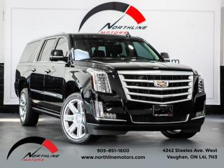 Used 2016 Cadillac Escalade ESV Premium|7 Passenger|Navigation|Rear Entertainment|HUD|360Cam for sale in Vaughan, ON