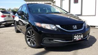 Used 2014 Honda Civic EX - ALLOYS! SUNROOF! BACK-UP/BLIND-SPOT CAM! for sale in Kitchener, ON