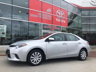 Used 2015 Toyota Corolla 4-door Sedan LE CVTi-S for sale in Surrey, BC