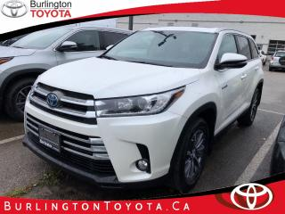 Used 2019 Toyota Highlander HYBRID XLE for sale in Burlington, ON