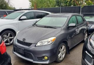 Used 2011 Toyota Matrix S, SUNROOF, KENWOOD, Xplod SUBWOOFER, Bluetooth for sale in Toronto, ON