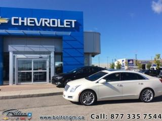 Used 2013 Cadillac XTS AWD Sedan  - $201 B/W for sale in Bolton, ON