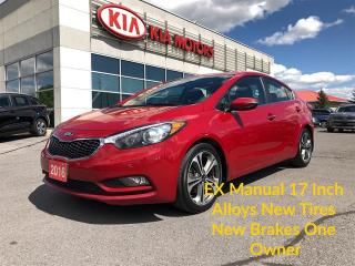Used 2016 Kia Forte EX Manual Trans. Back-up camera - Great Price! for sale in Kingston, ON