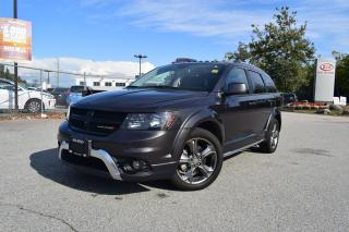 Used 2017 Dodge Journey Crossroad AWD 7Passenger for sale in Parksville, BC