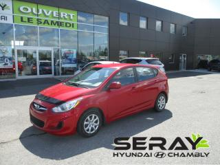 Used 2014 Hyundai Accent GL, bluetooth, a/c, sièges chauffant for sale in Chambly, QC
