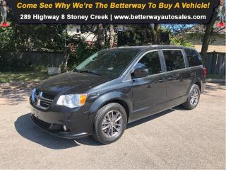 Used 2016 Dodge Grand Caravan SXT +|Leather|Dvd|Back up cam|Loaded for sale in Stoney Creek, ON