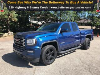 Used 2017 GMC Sierra 1500 Back up Cam| Clean Car Fax| 5.3L| Running Boards for sale in Stoney Creek, ON