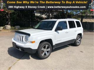 Used 2016 Jeep Patriot LEATHER SUNROOF 4WD lLOADED for sale in Stoney Creek, ON
