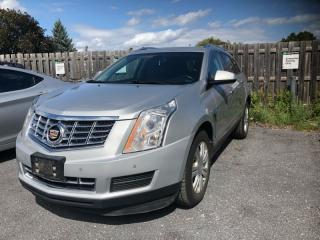 Used 2015 Cadillac SRX Luxury  LUXURY, AWD, NAV, SUNROOF, BLIND ZONE ALERT, MUCH MORE for sale in Ottawa, ON