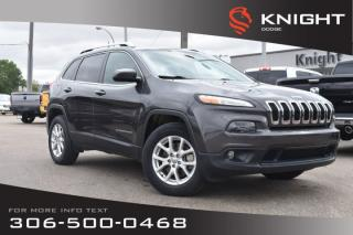 Used 2016 Jeep Cherokee North | Heated Seats | Remote Start | Low KMs | for sale in Swift Current, SK