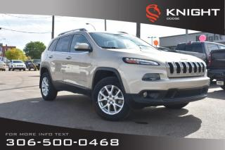Used 2014 Jeep Cherokee North | Heated Seats & Steering Wheel | Navigation | Remote Start | for sale in Swift Current, SK