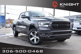 Used 2020 RAM 1500 Sport Crew Cab | Leather | Sunroof | Navigation for sale in Swift Current, SK