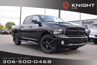 Used 2019 RAM 1500 Classic SLT Crew Cab EcoDiesel | Heated Seats and Steering Wheel | Sunroof | Navigation for sale in Swift Current, SK