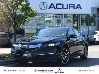 Used 2017 Acura TLX 3.5L SH-AWD w/Tech Pkg Navi, Backup Cam, Blind Spot Info for sale in Markham, ON