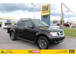 Used 2018 Nissan Frontier PRO-4X   CREW   NAV   CAMERA   SIÈGES CHAUFFANTS for sale in Salaberry-de-Valleyfield, QC