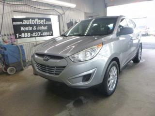 Used 2012 Hyundai Tucson 2012 Hyundai Tucson - FWD 4dr I4 Man L for sale in St-Raymond, QC