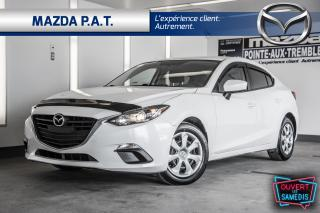 Used 2016 Mazda MAZDA3 2016 Mazda Mazda3 - 4dr Sdn Auto GX for sale in Montréal, QC