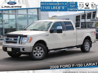 Used 2009 Ford F-150 LARIAT**CUIR*TOIT*CAMERA*BLUETOOTH*CRUISE*A/C** for sale in Victoriaville, QC