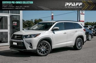 Used 2018 Toyota Highlander XLE AWD for sale in Orangeville, ON