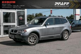 Used 2006 BMW X3 2.5i for sale in Orangeville, ON