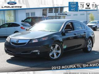Used 2012 Acura TL SH-AWD**CUIR*TOIT*BLUETOOTH*CRUISE*A/C** for sale in Victoriaville, QC