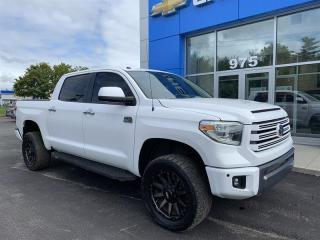 Used 2018 Toyota Tundra 4x4 CrewMax Ltd 5.7 6A for sale in Gatineau, QC