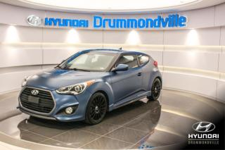Used 2016 Hyundai Veloster TURBO + RALLY EDITION + GARANTIE + RARE for sale in Drummondville, QC