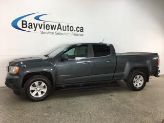 Used 2017 GMC Canyon SLE - DIESEL! 4X4! HITCH! ALLOYS! PWR GROUP! for sale in Belleville, ON
