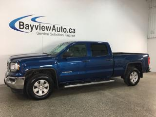 Used 2018 GMC Sierra 1500 - 4X4! CREW CAB! V8! for sale in Belleville, ON