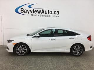 Used 2019 Honda Civic Touring - AUTO! SUNROOF! NAV! HTD LEATHER! ADAPTIVE CRUISE! for sale in Belleville, ON