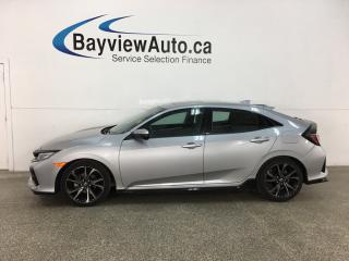 Used 2018 Honda Civic Sport Touring - AUTO! HEATED LTHR! NAV! SUNROOF! ADAPTIVE CRUISE! + MORE! for sale in Belleville, ON