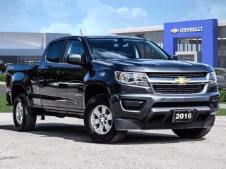 Used 2016 Chevrolet Colorado 4WD WT for sale in Markham, ON