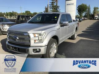 Used 2015 Ford F-150 Platinum Remote Start - Keyless Entry for sale in Calgary, AB