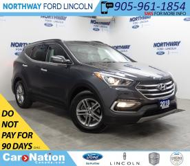 Used 2018 Hyundai Santa Fe Sport 2.4 SE | AWD | HTD LEATHER | PANOROOF | for sale in Brantford, ON