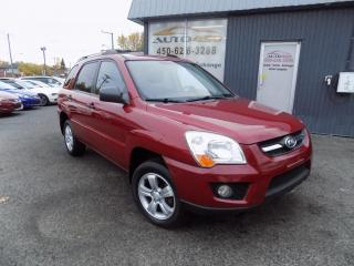 Used 2009 Kia Sportage ***LX,AUTOMATIQUE,ECONOMIQUE,A/C,MAGS*** for sale in Longueuil, QC