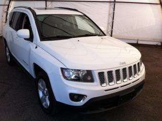 Used 2016 Jeep Compass Sport/North HIGH ALTITUDE PACKAGE, POWER SUNROOF, POWER SEAT, LEATHER TRIMMED SEATING for sale in Ottawa, ON