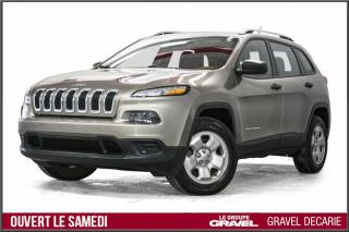 Used 2016 Jeep Cherokee 4 RM, 4 portes, Sport for sale in Montréal, QC