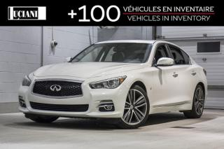 Used 2015 Infiniti Q50 2015 Infiniti Q50 LIMITED!!  - 4dr Sdn AWD for sale in Montréal, QC