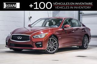 Used 2016 Infiniti Q50 2016 Infiniti Q50  Red Sport 400!! TECH !! for sale in Montréal, QC