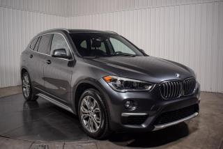 Used 2017 BMW X1 XDRIVE CUIR TOIT PANO MAGS GROS ECRAN for sale in St-Hubert, QC