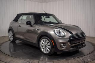 Used 2018 MINI Cooper CONVERTIBLE Convertible A/c Cuir for sale in St-Hubert, QC