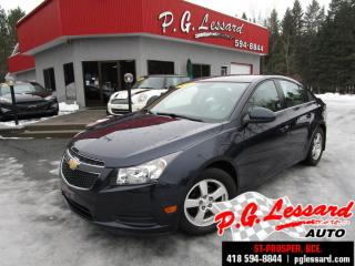 Used 2014 Chevrolet Cruze 2lt cuir chauffant camera mags bluetooth for sale in St-Prosper, QC