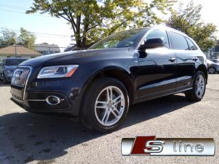 Used 2015 Audi Q5 2.0T S-LINE NAVI CAMERA *51,000KM* TOIT PANO. for sale in St-Eustache, QC