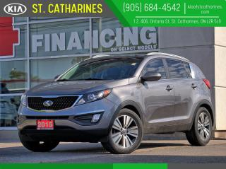 Used 2015 Kia Sportage EX Luxury | Leather | Panoramic Roof | Cooled Seat for sale in St Catharines, ON