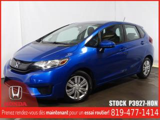 Used 2015 Honda Fit LX+CAMÉRA+SIEGCHAUFF+A/C+BLUETOOTH+REGVIT for sale in Drummondville, QC