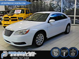 Used 2014 Chrysler 200 LX BAS KM for sale in Laval, QC