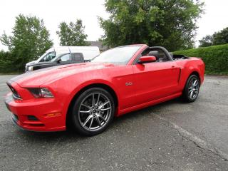 Used 2014 Ford Mustang Cabriolet à 2 portes GT for sale in Thetford Mines, QC