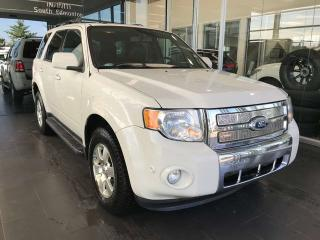 Used 2011 Ford Escape LIMITED 4WD, SUNROOF, POWER HEATED LEATHER SEATS, BACK-UP CAMERA for sale in Edmonton, AB